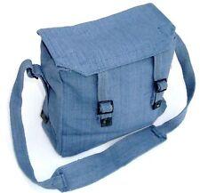 RAF BLUE HAVERSACK military messenger shoulder bag tough cotton canvas satchel