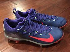 Nike 852686-460 Men's Lunar Vapor Ultrafly Elite Purple Red Baseball Cleats