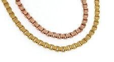 Bracciale Veneziana oro doublé giallo o rosa o placcato oro gioiello donna uomo