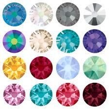 144 Swarovski 2058/2088 Crystal Flatback Rhinestones nail art *U Pick Size Color