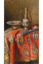 Oriental Still Life By Max Schodl Canvas Print
