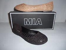 Mia Women's Embellished Ballet Flat Black or Beige Sizes NIB NEW CUTE! GG133A
