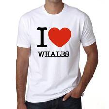 WHALES, maglietta uomo, animali magliette, maglietta regalo 00064