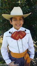 Mexican Children Western Shirt Charro, Mariachi.Camisa Charra Mexicana De Niño