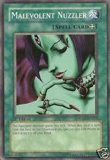 Yu-Gi-Oh 3x Malevolent Nuzzler - - - SDSC