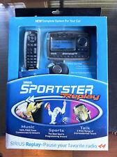 NEW Sportster REPLAY SP-R2 Radio W/Vehicle Kit  SIRIUS post weak trans. sp-tk2