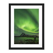Aurora Borealis Nature Art Silk Poster Print 13x24 24x43 inches Home Decor