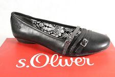 s.Oliver Ballerina Slipper Sneakers Pumps schwarz  NEU!!