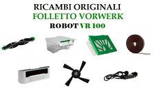 Filtro Base Spazzola Linee Ricambi ORIGINALI Robot Folletto Vorwerk VR100 VR 100