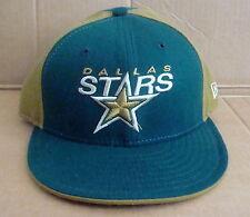 NHL DALLAS STARS Fitted Sports Hat/Cap - Green & Brown New Era Cap