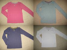 MINI BODEN schöne T Hemd 1.5-12 Jahre 5 Farben langärmlig rose Baumwolle