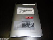 Werkstatthandbuch Audi A6 C5 Fahrwerk Eigendiagnose ABS ESP ab 1998