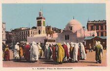 Postcard Algier Place du Government