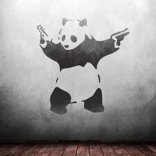 CraftStar Banksy Panda Wall Stencil - Reusable Mylar Graffiti Art Stencil