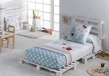 conforter ajustable infantil calidad 200 hilos percal 100% algodón Moon cortina