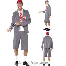 CL731 Mens School Boy School Days Uniform Teacher Student Fancy Dress Up Costume