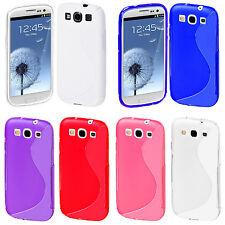 Samsung Galaxy S3 i9300 i9305 TPU Silikon Case Schutz Cover Schale Hülle Tasche