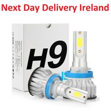 2000W CREE H11 H9 H8 LED Headlight Kits Hi/Lo Power 6000K White 480000LM Bulb