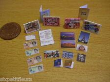 Modern cards photos letters postcards money 1:12th doll's house kit UK SELLER
