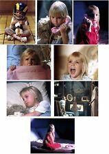 Set of 8 - Heather O'Rourke Poltergeist 8x10 photos (other sizes available)