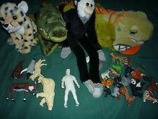 Mixed Lot of 29 K&M Toys- Plush! Plastic! Steve Irwin!