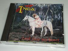 Inga Look into my heart CD 1991 RAR con i wish/all I Wanna Do/Hot Life (YZ)