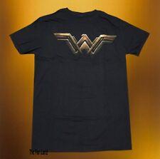 New DC Comics Wonder Woman Vintage Metal Logo Mens T-Shirt