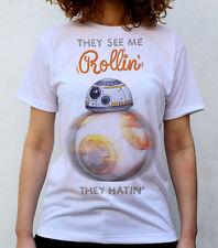 Rodando Droid T Shirt Diseño, #starwars, #bb -8