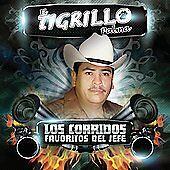 New: El Tigrillo Palma: Los Corridos Favoritos Del Jefe  Audio CD