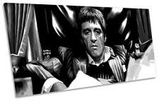 Scarface Tony Montana  PANORAMA BOX FRAME CANVAS ART Print