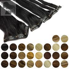Clip In Extensions Clip On Haarteile 45 cm 60 cm Indisches Remy Echthaar