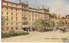 82542 cartolina artistica illustrata roma imperial hotel 1933
