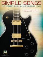 Simple Songs: The Easiest Easy Guitar Songbook Ever: By Hal Leonard Corp.