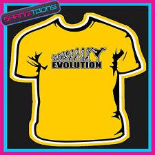 Evolución Mono A La Calle romper Bailarina Danza Camiseta
