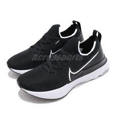 Nike Wmns React Infinity Run FK Flyknit Black White Women Running CD4372-002