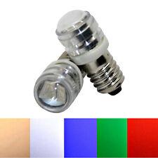 E10 Leuchtmittel 12V 6V SMD Birne Lampe Glühbirne weiß warmweiß blau rot grün
