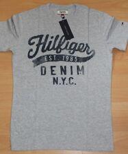 Tommy Hilifger Denim Grey Mens T-Shirt