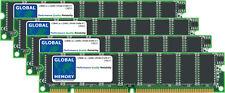 128MB (4x32MB) kit DIMM de DRAM Cisco 12000 tarjeta de línea GSR 4 Paquete (MEM-LC1-PKT-12)