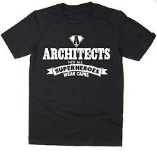 Arquitectos-no todos los superheroes desgaste Cabos-Para Hombre Divertido Camiseta Muchos Colores