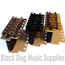 Wilkinson Guitarra Trémolo En Cromo, negro, o dorado. WVC SB Acero Bloque De Sustain