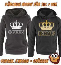 KING & QUEEN - KRONE II - Damen Hoodie
