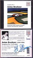 Stanislaw SKROWACZEWSKI Signiert BRUCKNER Symphony No.3 Saabrücken Radio CD