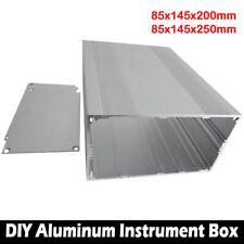 85x145x200mm Aluminum PCB Instrument Box Enclosure Case Electronic Project DIY
