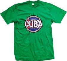Cuba Flag Ball Country Colors Outline Cuban Republica De Team CUB Men's T-Shirt