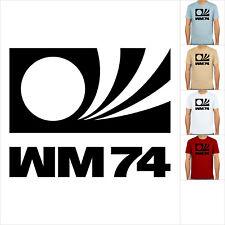 Deutschland, WM 74, Weltmeister Weltmeisterschaft, T-Shirt, Fußball-Kult, S-XXL!