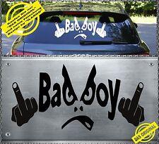 BAD BOY Fuck You Aufkleber Sticker Totenkopf Heckscheiben 59x30cm BBF-1