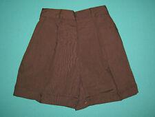 NEW Girl school uniform Short Brown Size 5 to 16