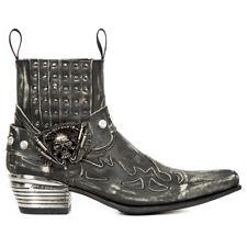 New Rock NR M.WST045 S1 Black - Boots, Dallas, Men