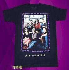 New NBC Friends TV Poster 1994 Vintage Mens Cartoon T-Shirt