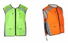 Spada Motorcycle Motorbike Airtex Lining Hi-Viz Safety Vest For Male/Female